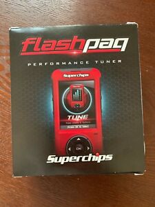 Superchips Flashpaq F5 performance tuner, 4845. Ford F-150 3.5L V6 Ecoboost.
