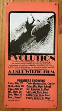 Evolution Wayne Lynch Paul Witzig Vintage Surf Movie Poster Surfboard Metal Sign
