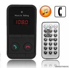 Eccellente Wireless Bluetooth Trasmettitore FM Auto MP3 PLAYER SD USB LCD + remote.