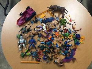 He-Man Lot Vintage MOTU Masters Of The Universe Figures Broken Parts Repair