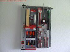Werkstattwand  3 Lochwände  bestückt mit Qualitätswerkzeug Werkzeug Set