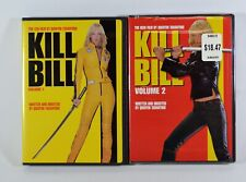 Kill Bill: Volumes 1 & 2 Dvd Movies (Quentin Tarantino)