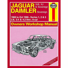 0242 Jaguar Xj6 XJ Sovereign 2.8 3.4 4.2 Petrol 1968-86 (up to D Reg) Haynes M