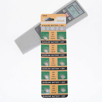 10 pcs Alkaline Uhren Knopfzellen Uhrenbatterien AG3 Knopfbatterien LR41 neu