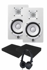 Yamaha HS5W WhiteStudio Monitor Pair STUDIO KIT **NEW**