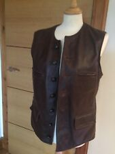 Aero Leather Shackleton Waist Coat