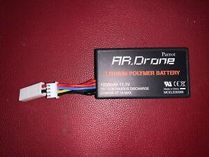 Parrot AR 1.0 Drohne Quadrocopter Lithium Polymer Battery Akku