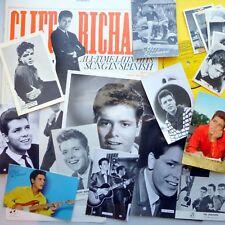 CLIFF RICHARD in SPAIN promo LP with Fan Club Photos Postcards & Bubblegum cards