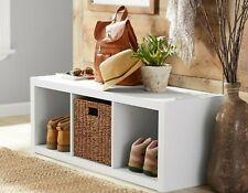 3-Cube Indoor Storage Organizer Heavy Duty, Multiple Colors