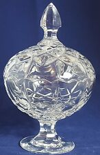 Beautiful Smalll Cut Glass / Crystal Candy Bowl