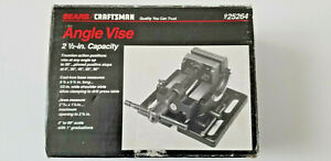 Sear Craftsman 2.5 Inch Capacity Angle Vise 25264 in Original Box with Instructi