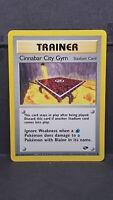 Cinnabar City Gym 113 Gym Challenge Uncommon Pokemon Card Near Mint