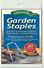 "Sealed Pack of  20 of 4.5"" Gardeneer Garden Staples GS-20 20 Gauge"