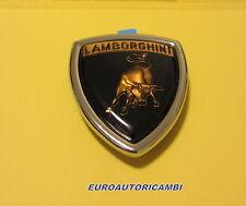 LAMBORGHINI MIURA P400 SV ESPADA JALPA JOTA FRONT HOOD EMBLEM BADGE ORIGINAL
