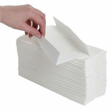 White C Fold Hand Towels 120 Sheets Paper Tissue 1Ply Multi Fold New Pack 24WHTA