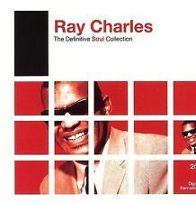 RAY CHARLES - The Definitive Soul Collection, 2 CD Set, Mess Around, NEW