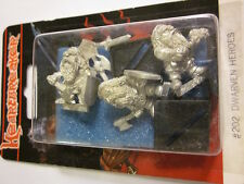 Heartbreaker Miniature #202 DWARVEN HEROES (Three 28mm Figures)