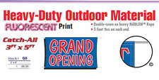 Grand Opening Banner Sign promotional marketing products sign new business owner
