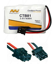 CTB81 Panasonic P-P301 KX-A36A P-P301PT Cordless Phone Battery NiMH