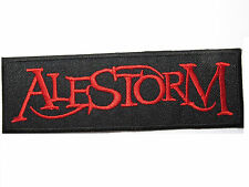 ALESTORM Heavy Metal Embroidered Sew On Iron On Jacket Patch 4.9""