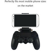 For PS4 Controller Cell Phone Clip Holder Mount Bracket Stand for iPhone Android