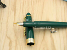 JINHAO 992 golden Blackish green Plastic Rotary cover gift Lorelei Fountain Pen
