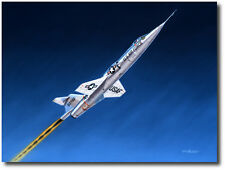 Stairway to Heaven by Mike Machat - NF-104 Starfighter - Aviation Art Print