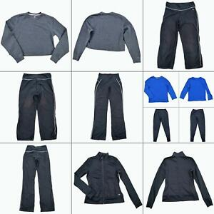 Lot 7 Athletic Works Womens Pants Tops Long Sleeve Shirts Size Small Athleisure
