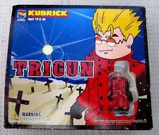 Trigun Kubrick 3 Pk Figures Vash Monev Nicholas Brand New Never Opened Rare NiB