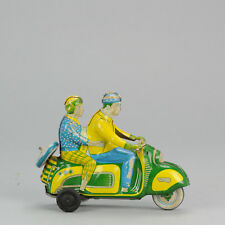 #Antique Tin Toy# Technofix Vespa Scooter German Motorcycle Germany