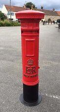 Royal Mail ER Pilier Bureau de poste Boite Rouge II Boîte Livraison À Lettre