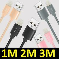 USB Cable For Apple iPhone 6 7 8 X XR XS 11 Pro Max Charger Fast Lead 2m 3m