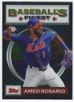 2020 Topps Finest Flashbacks #174 Amed Rosario - New York Mets