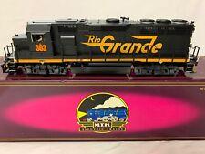 ✅Custom Mth Premier Wheeling Lake Erie Rio Grande Gp-40 Diesel Engine Weathered!