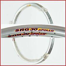 "NOS FIR SRG30 APOLLO AERO RIMS 28"" 700c 36H VINTAGE CLINCHER ROAD BIKE 90s SRG"
