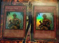 2x Riryoku Field LON-081 Unlimited  Super Rare Yugioh unplayed
