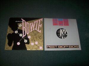 "Job lot 9 synth-pop 12"" singles David Bowie, Blancmange, Grace Jones, The Flirts"