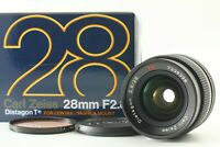 [MINT in Box] CONTAX Carl Zeiss Distagon T* 28mm f2.8 MMJ Lens from JAPAN