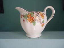 vintage art deco grindley creampetal cream petal autumn tone jug