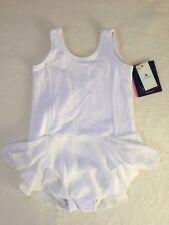 Baby Gap Gap Fit Toddler Girl Ballet Tank Dress 2 Years White New With Tags