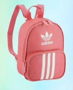 adidas Originals Women's Santiago Mini Backpack Hazy Rose One Size free shippi🥰