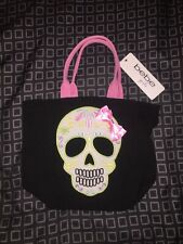 Bebe Girls Day Of The Dead Bag Accessory Sugar Skull