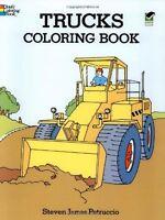Trucks Coloring Book (Dover Design Coloring Books) by Steven James Petruccio
