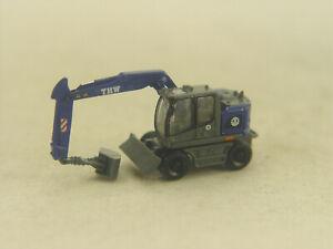 THW Liebherr Bagger Compact  - Lemke Mini Spur N -  1:160 - 4261  #E
