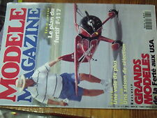 5µ?§ Revue Modele Magazine n°480 Plan encarté Boomerang / Spirit  F117A junior