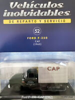 Ford F350 Pick up Frigorífico CAP  Diecast Car 1:43 Service Cars Arg