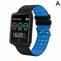 F3 BT Smart Watch Heart Rate Oxygen Blood Pressure Sport Fitness Tracker Q8X3