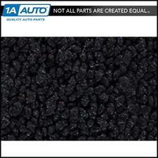 for 1957 Ford Ranchero with Standard Seats 80/20 Loop 01-Black Complete Carpet