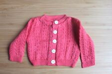 American Girl A Dark pink cardigan sweater 18'' doll accessories