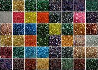 11/0 Miyuki Japanese Glass Round Rocaille Seed Beads 23 gram #1-30